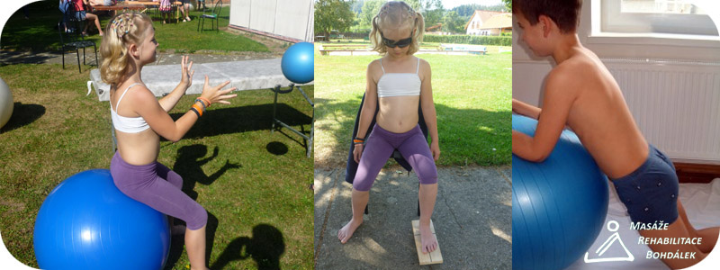 Dětská rehabilitace s logem